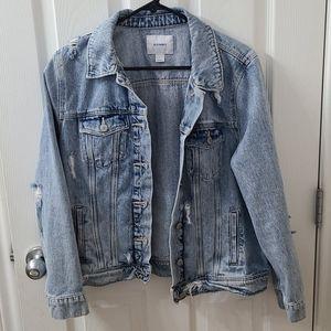 2/$25 Old Navy distressed jean jacket